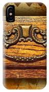 Pre-civil War Bookcase-drawer Pull IPhone Case