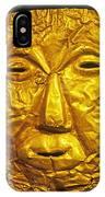 Pre-inca Gold Mask IPhone Case