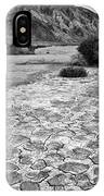 Prehistoric - Clark Dry Lake Located In Anza Borrego Desert State Park In California. IPhone Case