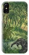 Prehistoric, Miocene Landscape IPhone Case