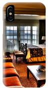 Premier Balcony Suite At The Sagamore Resort  IPhone Case