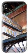 Preservation Hall IPhone Case