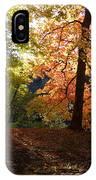 Preserve Trails In Fall Three IPhone Case
