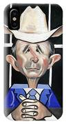 President George W Bush You Been Cubed IPhone Case