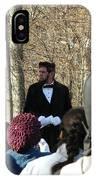 President Lincoln Speaks IPhone Case