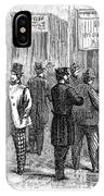 Presidential Election, 1864 IPhone Case