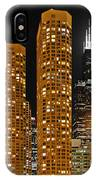 Presidential Towers Chicago IPhone Case