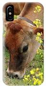 Pretty Jersey Cow - Vertical IPhone Case