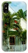 Pretty Key West Florida IPhone Case