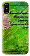 Pretty Little Weeds With Photoart And Verse IPhone Case