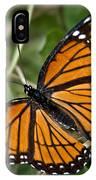 Pretty Monarch IPhone Case