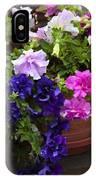 Pretty Petunias IPhone Case