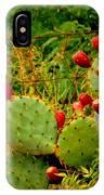 Prickly Pear Cactus IPhone Case