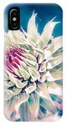 Prickly Thistle Bloom IPhone Case