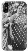 Prime Minister Indira Gandhi IPhone Case