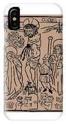 Primitive Crucifixion IPhone Case