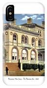 Princeton New Jersey - The Princeton Inn - 1925 IPhone Case