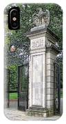 Princeton University Main Gate IPhone Case
