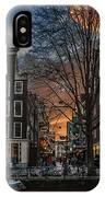 Prinsengracht 743. Amsterdam IPhone Case