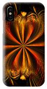 Printemps Papillon - Abstract Expressionism IPhone Case