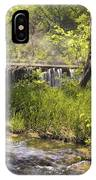 Pristine Forest Stream IPhone X Case
