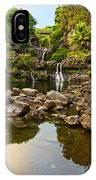 Private Pool Paradise - The Beautiful Scene Of The Seven Sacred Pools Of Maui. IPhone Case