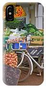 Produce Market In Corbridge IPhone Case