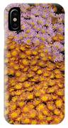 Profusion In Yellows Pinks And Oranges IPhone Case