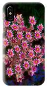Promising Pink Petals Abstract Garden Art By Omaste Witkowski IPhone Case
