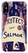Protect Our Salmon IPhone Case