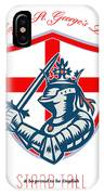 Proud To Be English Happy St George Day Shield Card IPhone Case