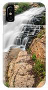 Provo River Falls 3 IPhone Case