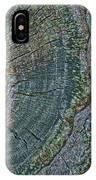 Pruned Limb On Live Oak Tree IPhone Case