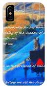 Psalm 23 Country Roads IPhone Case