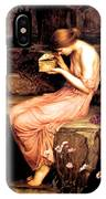 Psyche Opening The Golden Box 1903 IPhone Case