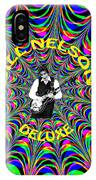 Psychedelic Bill Nelson Deluxe IPhone Case