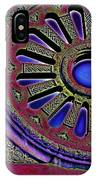 Psychedelic Church Window IPhone Case