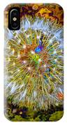 Psychedelic Dandelion IPhone Case