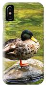 Psychedelic Duck  IPhone Case