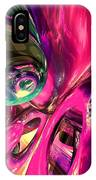 Psychedelic Fun House Abstract IPhone Case