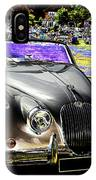 Psychedelic Jaguar Xk120 Classic Car 1 IPhone Case