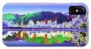 Psychedelic Lake Matheson New Zealand IPhone Case