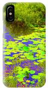 Psychedelic Lily Pads  IPhone Case