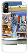 Psychedelic Old Pickup Truck IPhone Case
