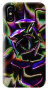 Psychedelic Rubber Plant IPhone Case