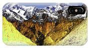 Psychedelic Southern Alps New Zealand IPhone Case