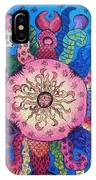 Psychedelic Squid 2 IPhone Case