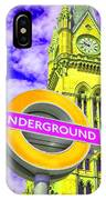 Psychedelic Underground IPhone Case