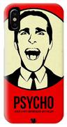 Psycho Poster 1 IPhone X Case