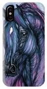 Psychodelic Deep Blue IPhone Case